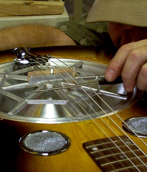 Slide Easy: Dobro and Resophonic Set Up