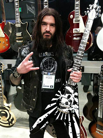 Robb Flynn Love-Death Baritone Flying V