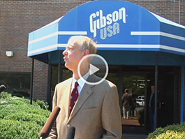 Henry Juszkiewicz, Chairman and CEO of Gibson Guitar Corp., has responded to the August 24 raid of Gibson facilities in Nashville and Memphis by the Federal Government.