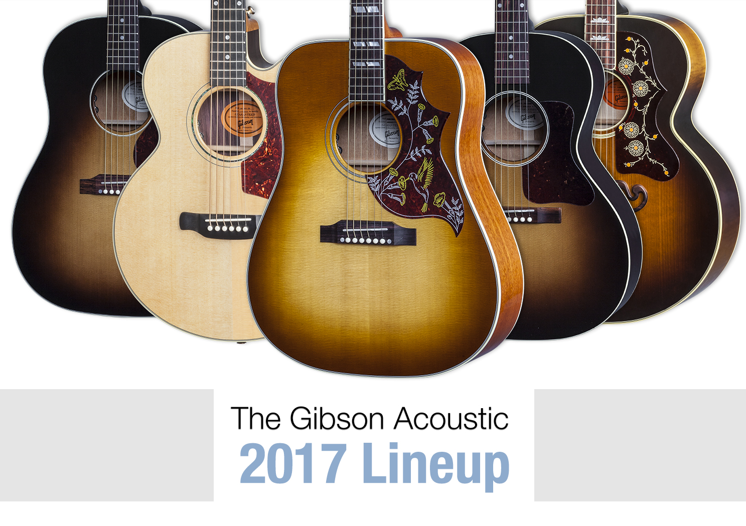 Gibson Acoustic - 2017 Model Year