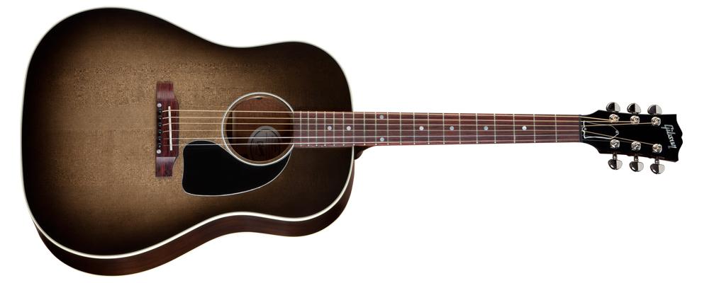 gibson acoustic j 45 cobraburst. Black Bedroom Furniture Sets. Home Design Ideas