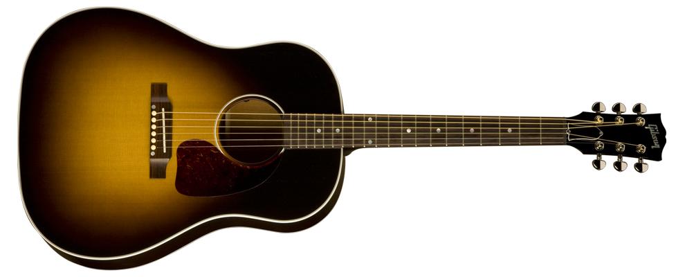 gibson acoustic j 45 standard. Black Bedroom Furniture Sets. Home Design Ideas