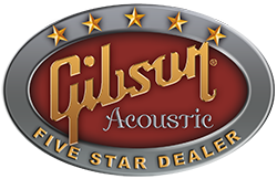 Gibson Acoustic 5-Star Dealer Logo