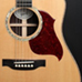 American Guitar Boutique - Songwriter Deluxe Standard Electric Cutaway Antique Natural