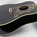 Corner Music - Gibson 5-Star Dealer - Black Hummingbird side
