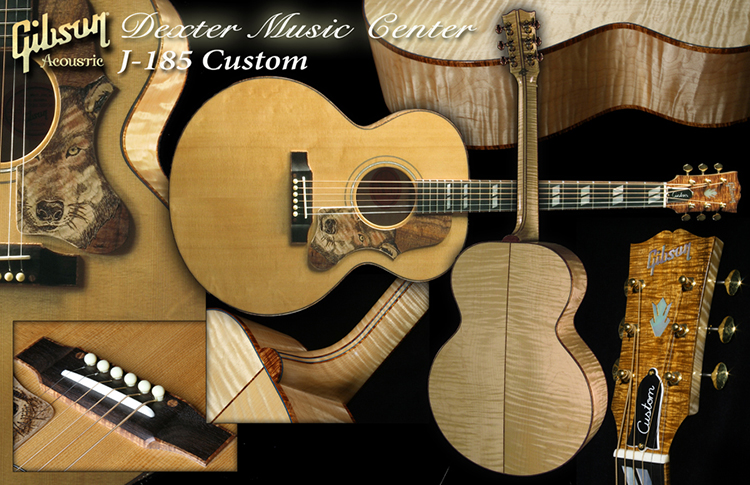 Dexter (MO) United States  city images : Gibson Guitar: Dexter Music Center Gibson Acoustic Five Star Dealer