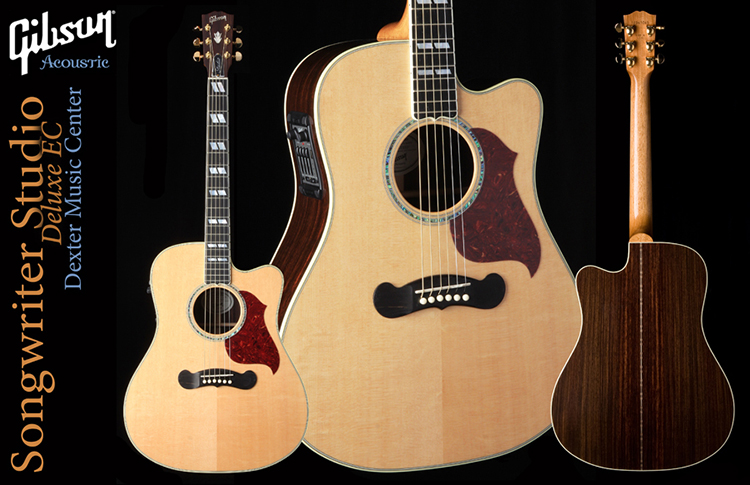 Dexter (MO) United States  City pictures : Gibson 5 Star Dealer Dexter Music Center Songwriter Studio Deluxe ...