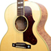 Guitar Village - 60th Anniversary J-185 Quilt Custom - Antique Natural