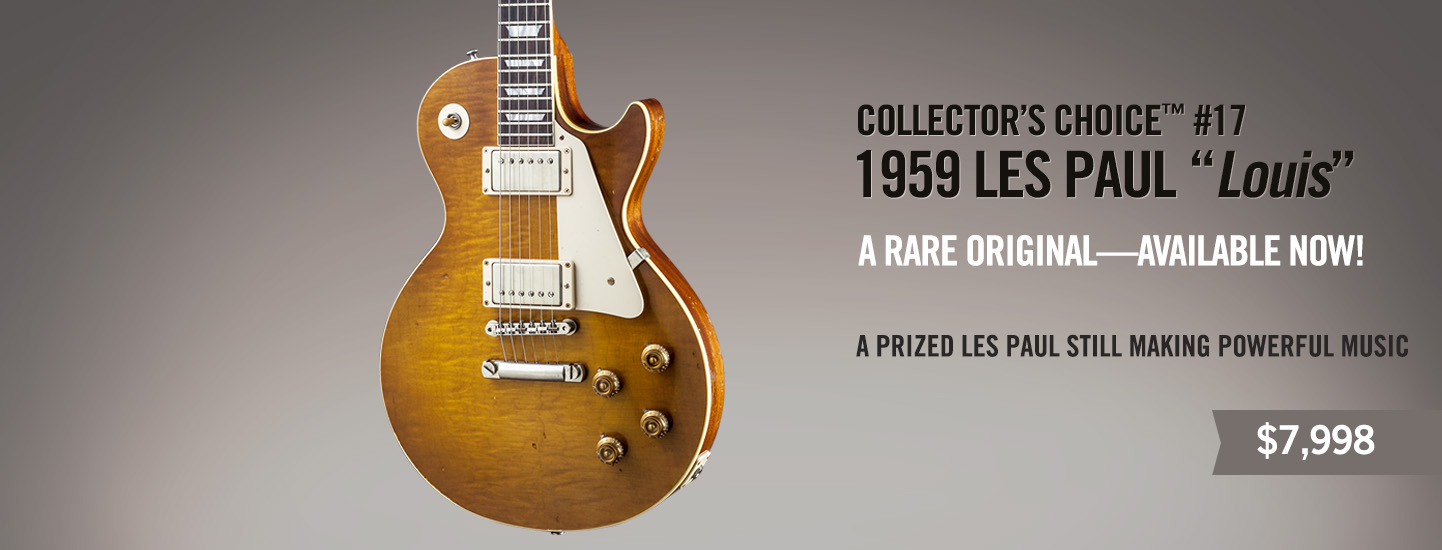 Collector's Choice 17 1959 Les Paul 'Louis'