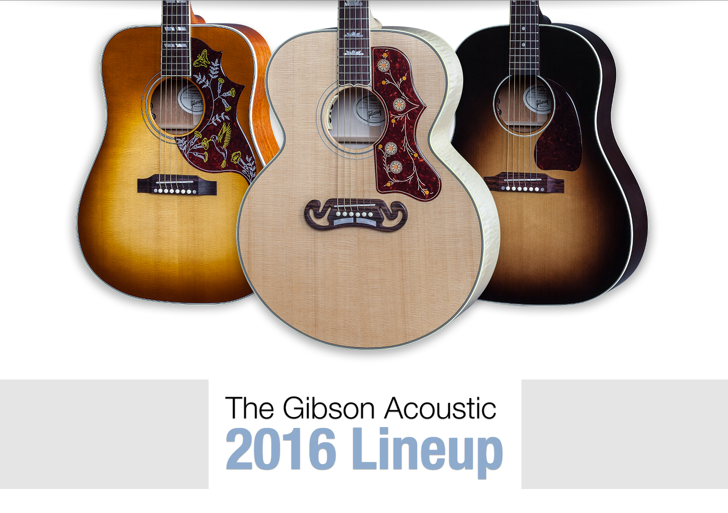 Gibson Acoustic - 2015 Model Year