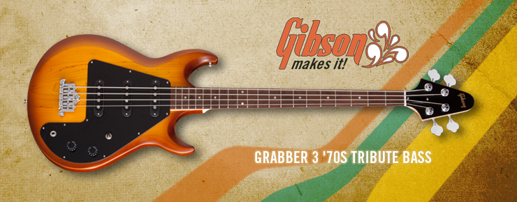 Gibson USA - Grabber 3 '70s Tribute Bass