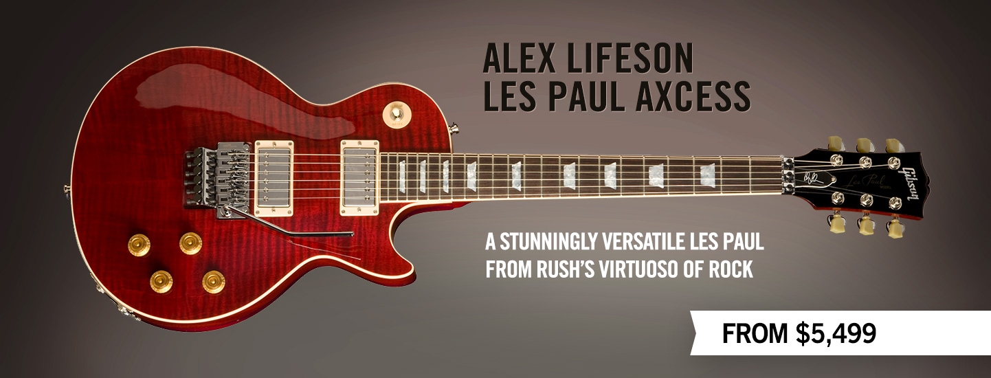 Gibson Guitar Gibson Custom Alex Lifeson Les Paul Axcess