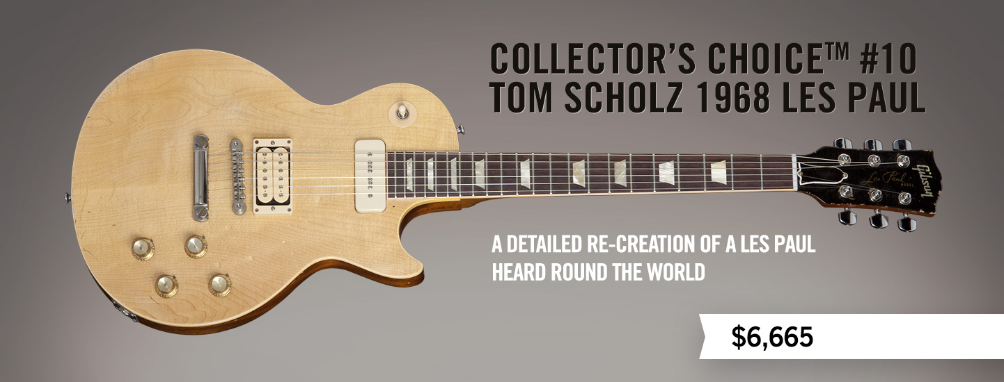 Collector's Choice™ #10 Tom Scholz 1968 Les Paul