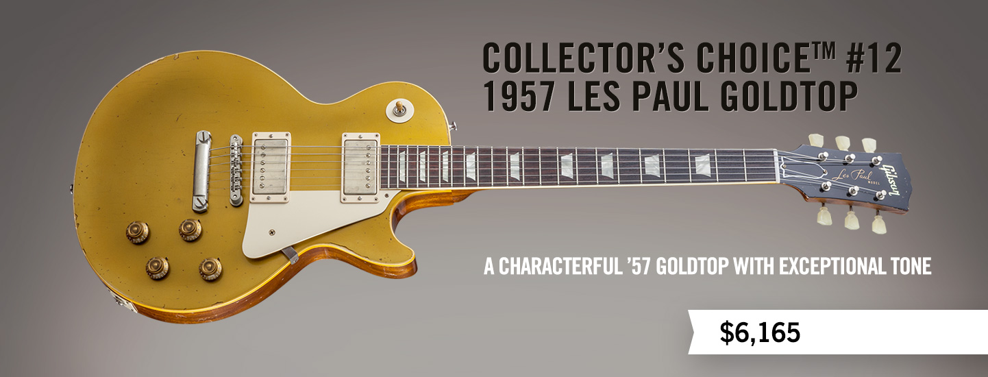Collector's Choice™ #12 1957 Les Paul Goldtop