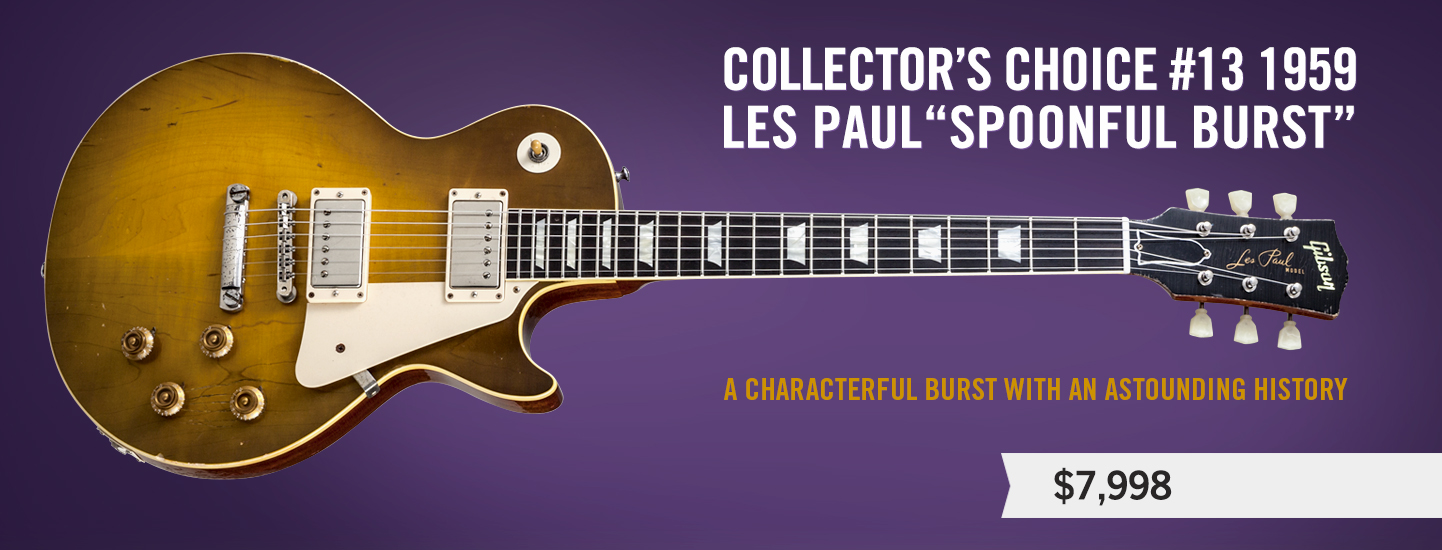 """Collector's Choice #13 1959 Les Paul """"Spoonful Burst"""""""