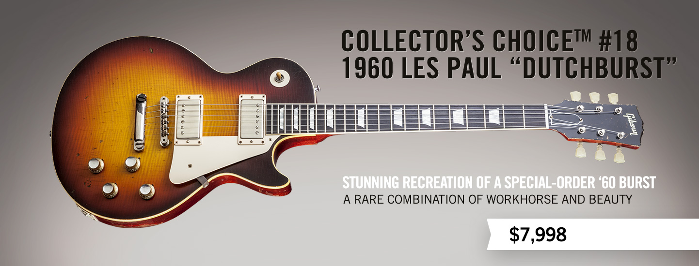 "Collector's Choice™ #18 1960 Les Paul ""Dutchburst"""