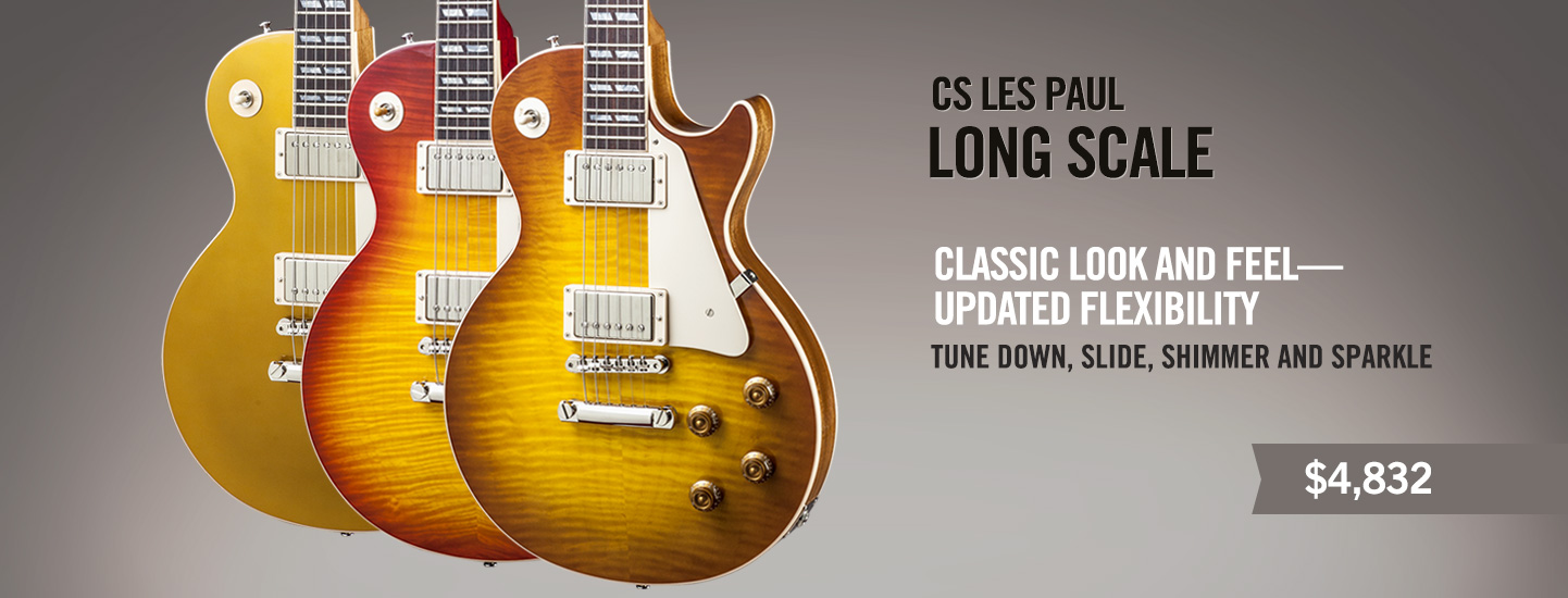 CS Les Paul Long Scale