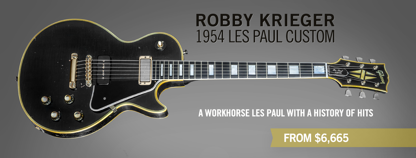 Robby Krieger 1954 Les Paul Custom