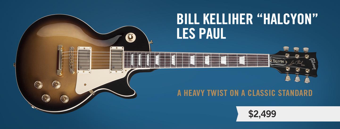 "Bill Kelliher ""Halcyon"" Les Paul"