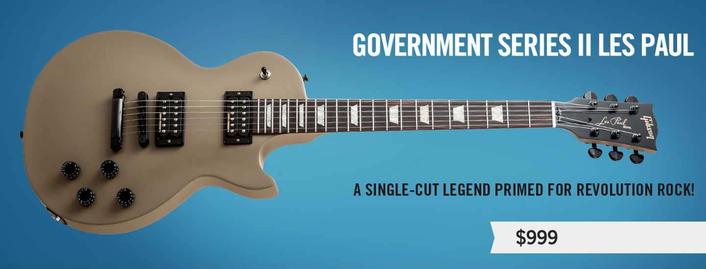 Government Series II Les Paul