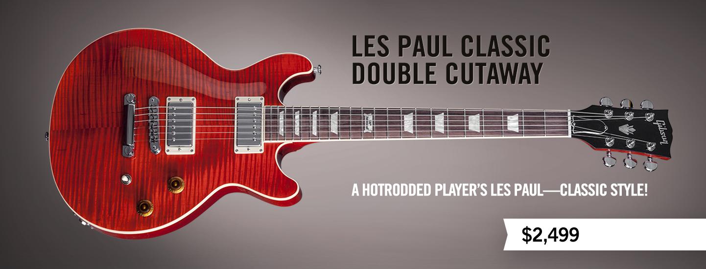Les Paul Classic Double Cutaway