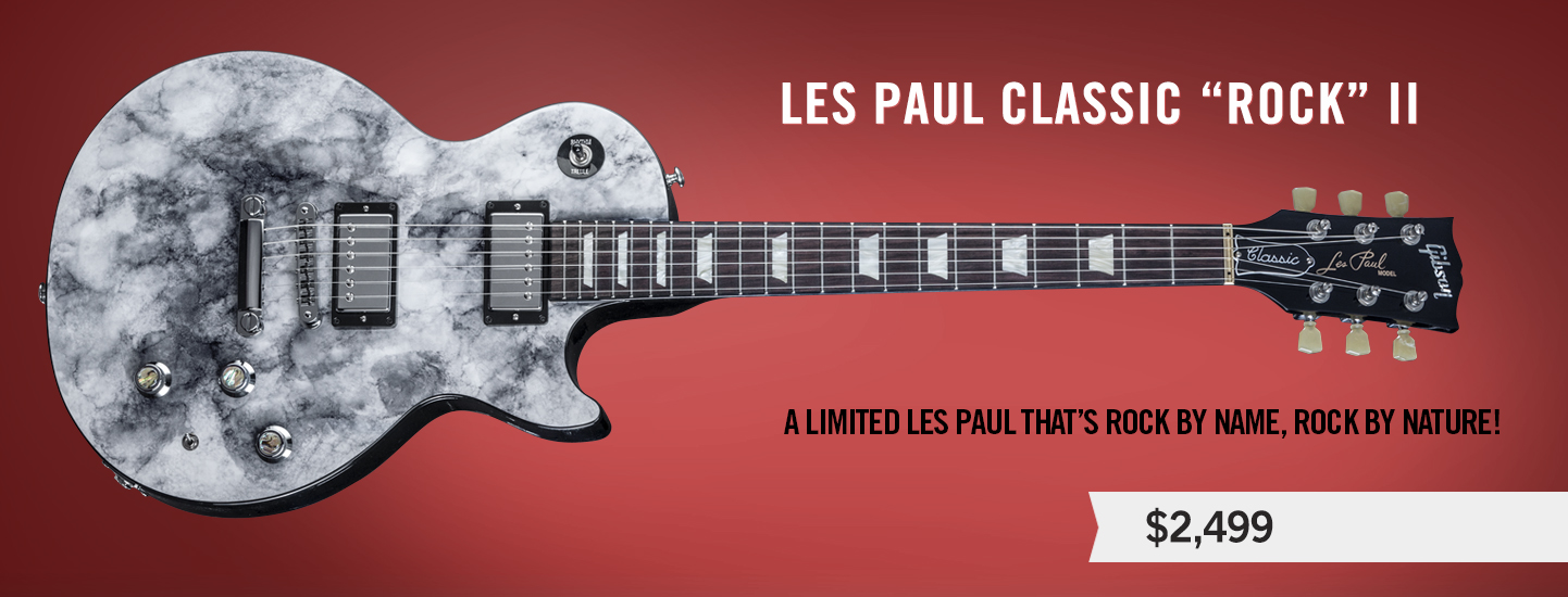 "Les Paul Classic ""Rock"" Series II"