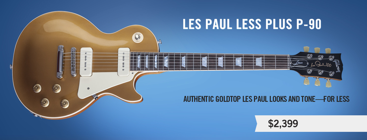 Les Paul Less Plus P-90