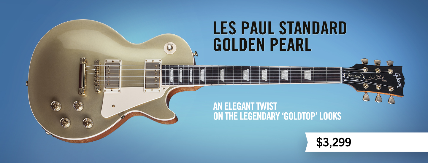 Les Paul Standard Golden Pearl