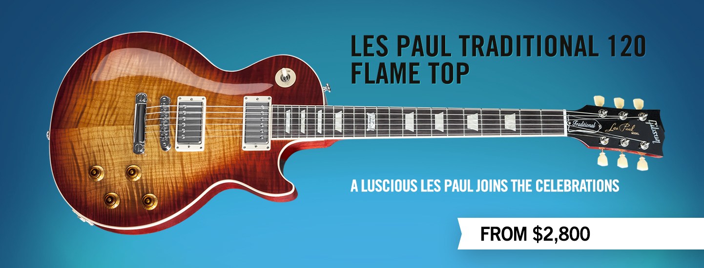 Les Paul Traditional Flame Top