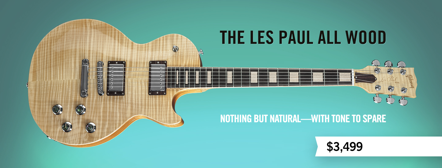 The Les Paul All Wood