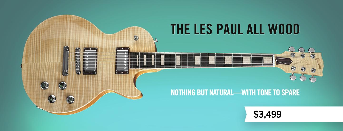 Gibson Com The Les Paul All Wood