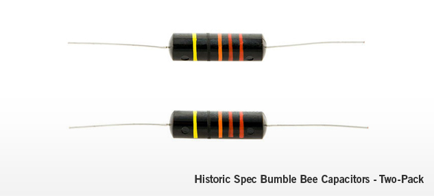 Historic Spec Bumble Bee Capacitors