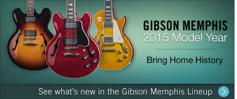 Bring Home History – See what's new in the Gibson Memphis Lineup