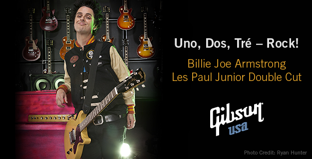 Billie Joe Armstrong Signature Les Paul Junior Double Cut
