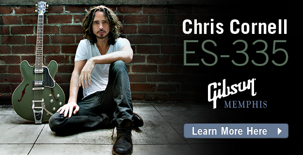 Chris Cornell ES-335 from Gibson Memphis