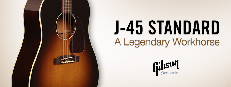 The Gibson Acoustic 2015 Model Year - Continuing A Legacy