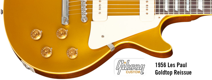 1956 Les Paul Goldtop Reissue
