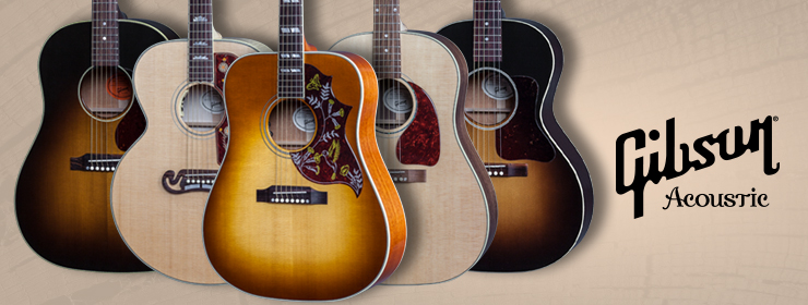 Gibson Acoustic 2017 Model Year