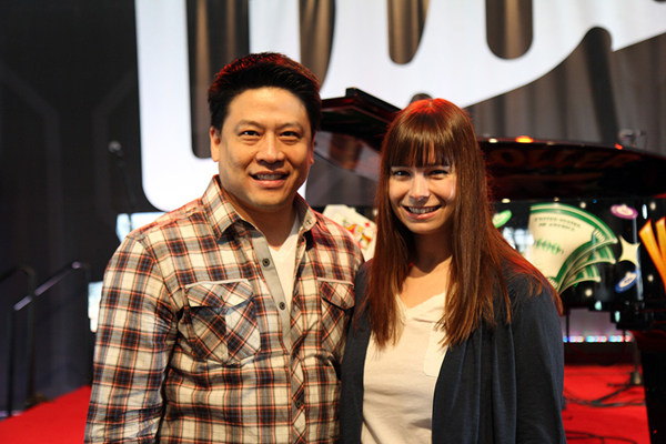 Gibson CES 2013 - Veronica Belmont and Garret Wong