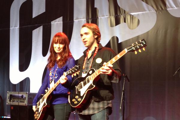 Gibson CES 2013 - Felicia Day with John Mathias