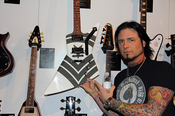 Five Finger Death Punch guitarist Jason Hook