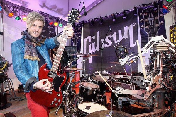 Gibson Musikmesse Finn Martin