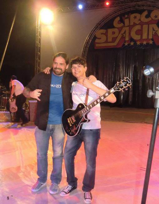 Sepultura Andres Kisser and Gabriel