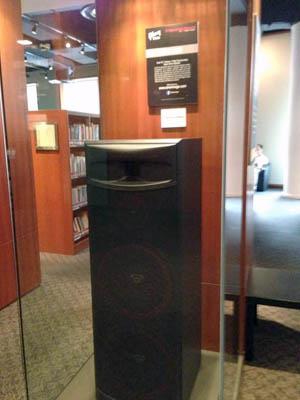 Cerwin Vega! XLS 215 display booth