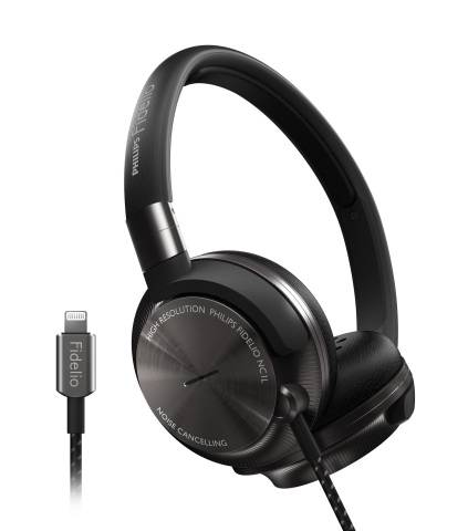 Philips Fidelio NC1L on-ear headphones