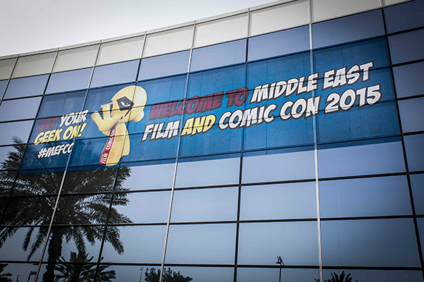 Gibson Brands at Comic Con 2015 - Dubai