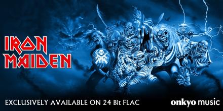 Watch Story Behind Onkyo Music's Lossless Iron Maiden Albums