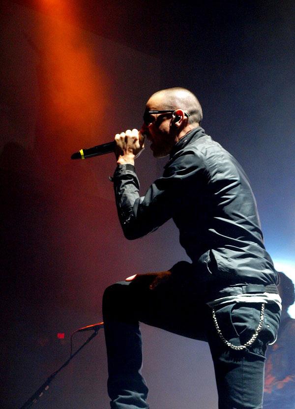 Chester Bennington of Linkin Park by Anne Erickson
