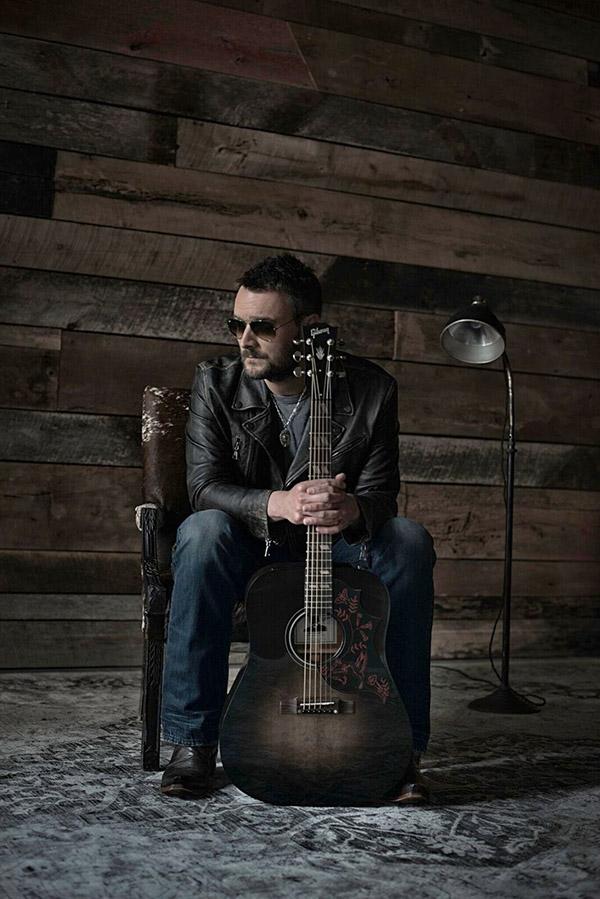 Eric Church Debuts Gibson Hummingbird Dark Acoustic
