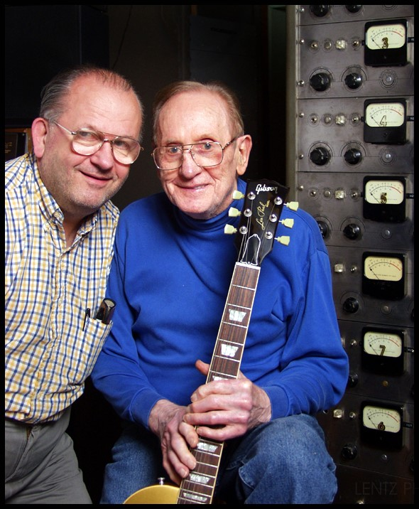 Rusty Paul and Les Paul